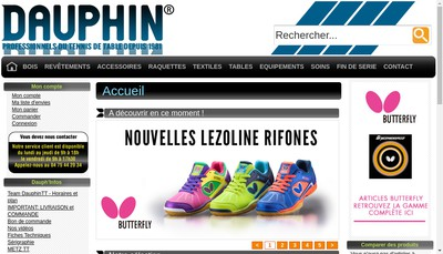 Site internet de Dauphin
