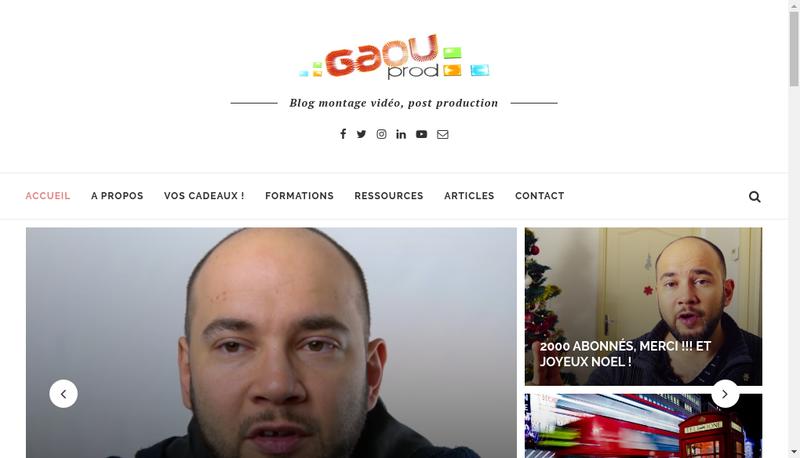 Capture d'écran du site de David Philippe Louis Fabre