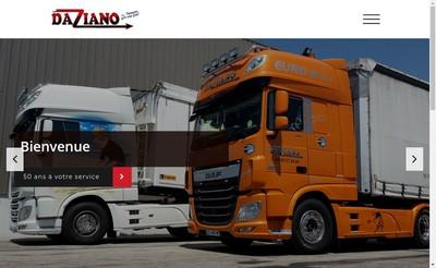 Site internet de Transport Daziano Pere et Fils