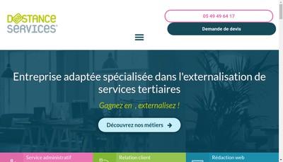 Site internet de Deastance Services