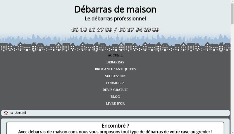 Capture d'écran du site de Art Emis