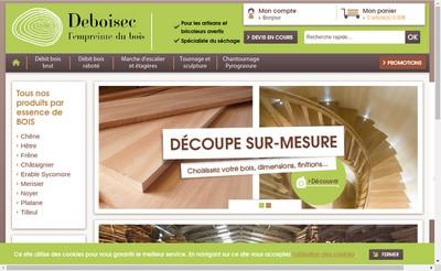 Site internet de Deboisec