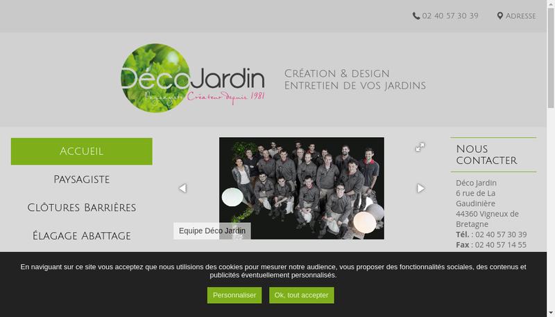 Capture d'écran du site de Michel Quirion