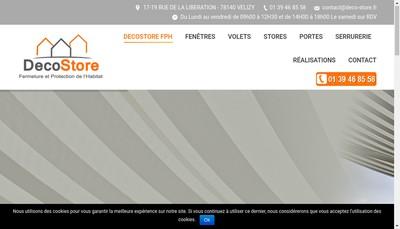 Site internet de Decostore FPH