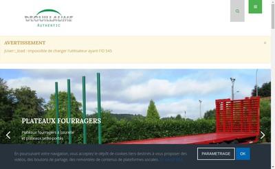 Site internet de Deguillaume