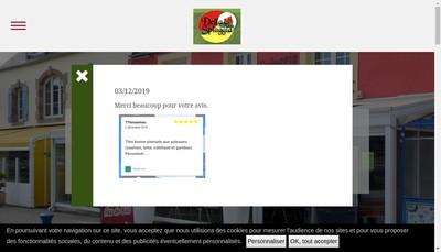 Site internet de Della Spiaggia