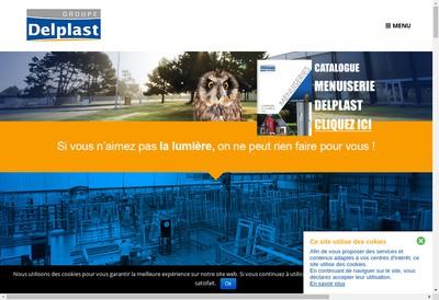 Site internet de Delplast