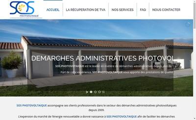 Site internet de Sos Photovoltaique