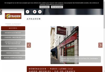 Site internet de Afradem