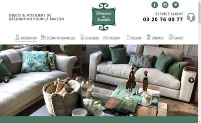 Site internet de Demeure de Famille