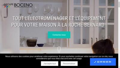 Site internet de Groupe Boceno