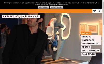 Site internet de Remy Poli Infographiste