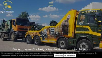 Site internet de Depannages Cochet