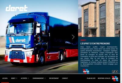 Site internet de Deret Atelier