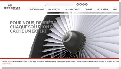 Site internet de Derichebourg Espaces Verts