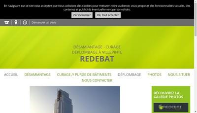 Site internet de Redebat