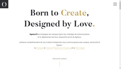 Site internet de Design d'O