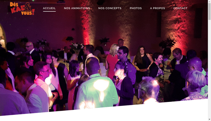 Capture d'écran du site de Deskaletvous
