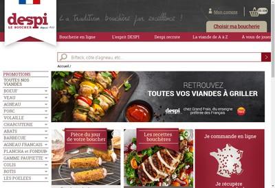Site internet de Affrais- Affrais Prod- Affrais Log