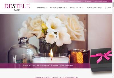 Site internet de Destele
