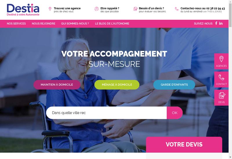 Capture d'écran du site de Sous Mon Toit Colmar