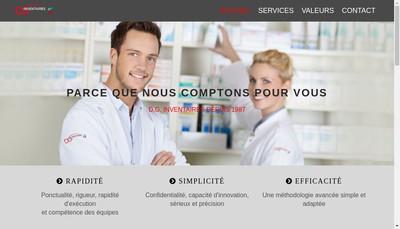 Site internet de Dg Inventaires & Co