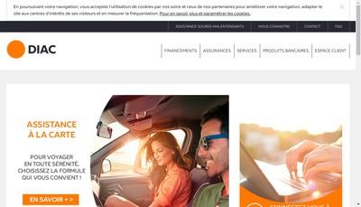 Site internet de Diac