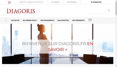Site internet de Diagoris