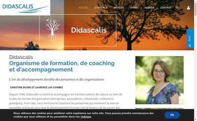 Site internet de Didascalis