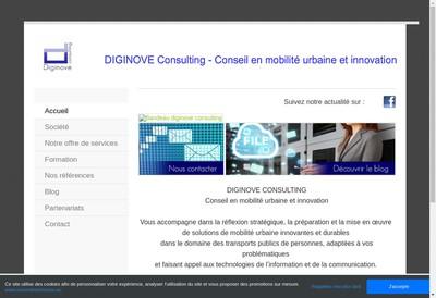 Site internet de Diginove Consulting