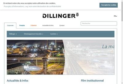 Site internet de Dillinger International