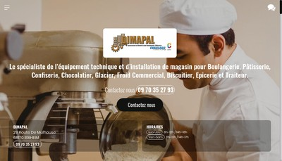 Site internet de Dimapal