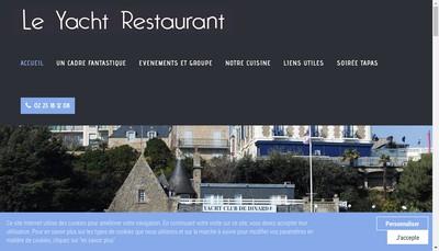 Site internet de Le Yacht