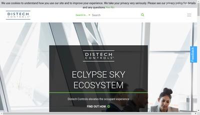 Site internet de Distech Controls SAS