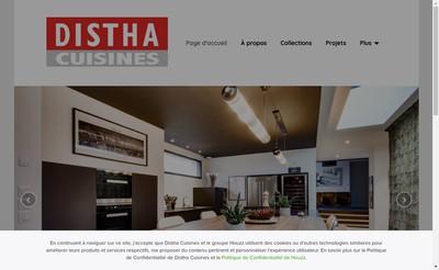 Site internet de Distha