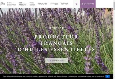 Site internet de Distillerie Raoul Duffez