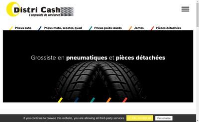 Site internet de Distri Cash Accessoires