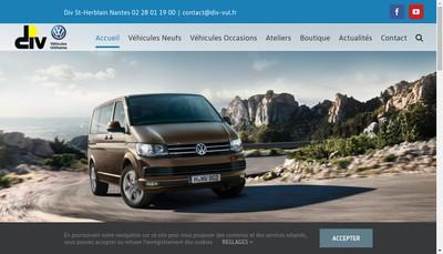 Site internet de Volkswagen Utilitaires