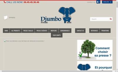 Site internet de Djumbo