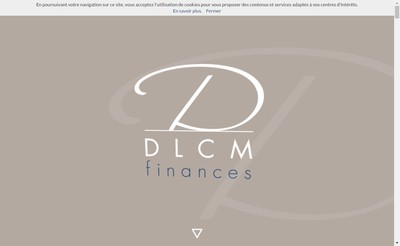Site internet de Dlcm Finances