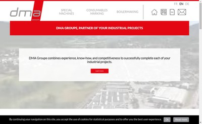 Site internet de Dma Holding