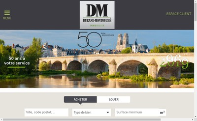 Site internet de Dm