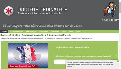 Site internet de Docteur Ordinateur