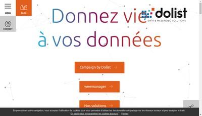 Site internet de Dolist