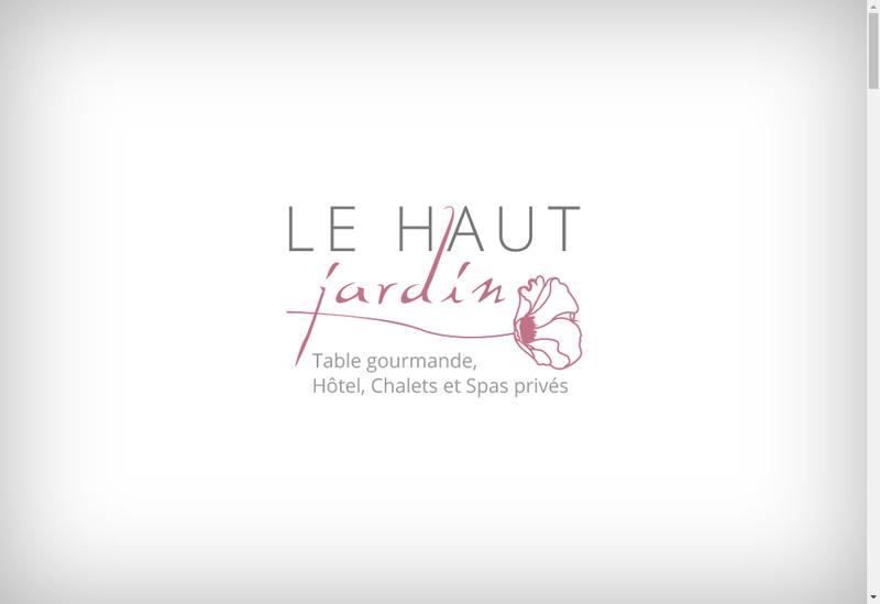 Capture d'écran du site de Auberge du Haut Jardin - les Perles du Haut Jardin