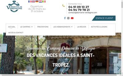 Site internet de Domaine de Verdagne