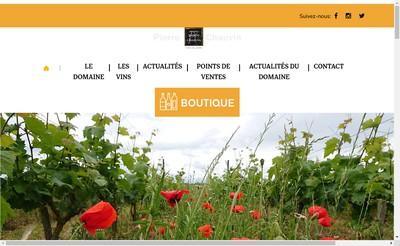 Site internet de Paul - Eric Chauvin