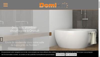 Site internet de Domieco