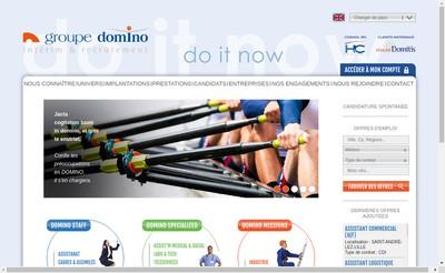 Site internet de Domino Staff Lyon
