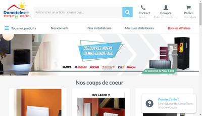 Site internet de Domotelec